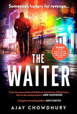 The Waiter by Ajay Chowdhury front cover