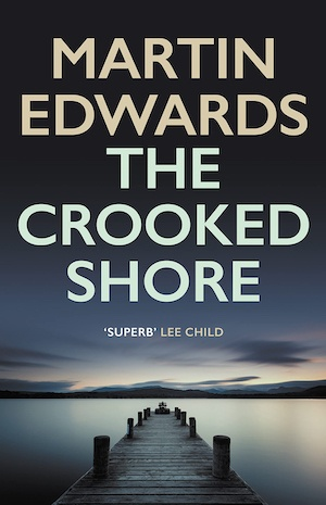 The Crooked Shore by Martin Edwards front cover