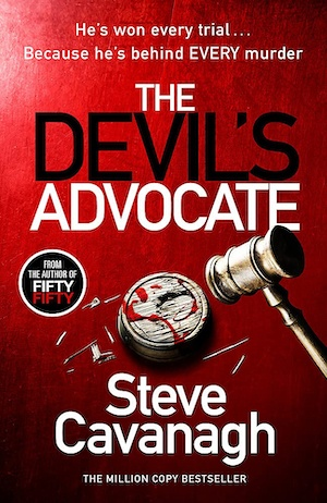 The Devil's Advocate by Steve Cavanagh front cover