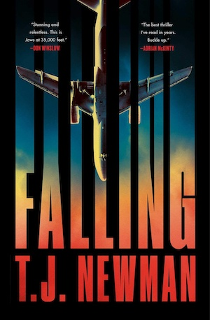 Falling by TJ Newman front cover