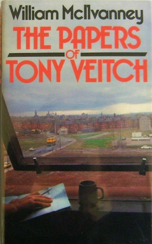 The Papers of Tony Veitch original front cover