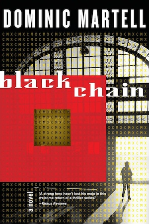 Blackchain by Dominic Martell front cover