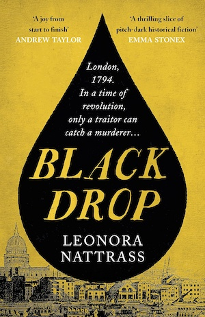Black Drop by Leonora Nattrass front cover