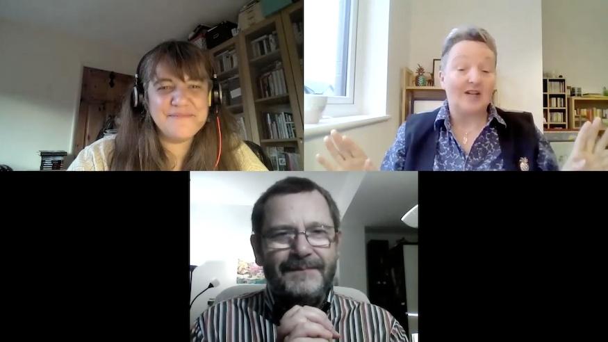 Bogdan Hrib and Marina Sofia interviewed by Jacky Collins