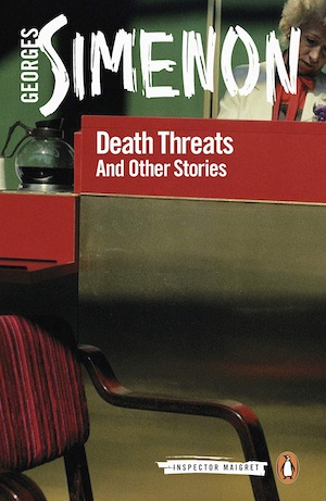 Death Threats and Other Stories by Georges Simenon front cover