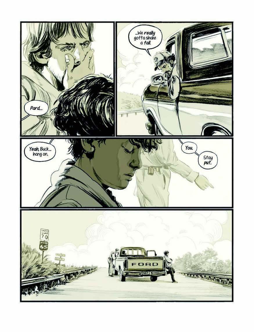 Meadowlark crime graphic novel