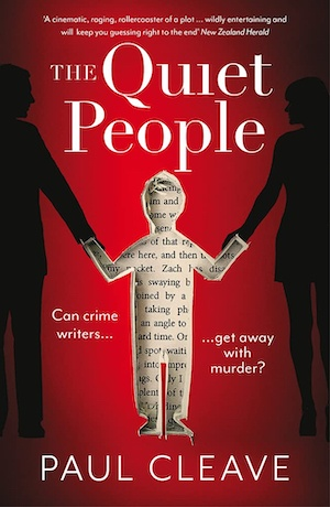 The Quiet People by Paul Cleave front cover