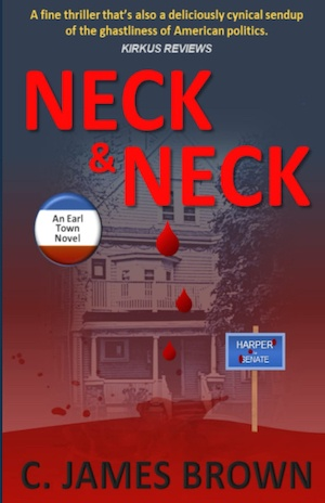 Neck & Neck by C James Brown front cover