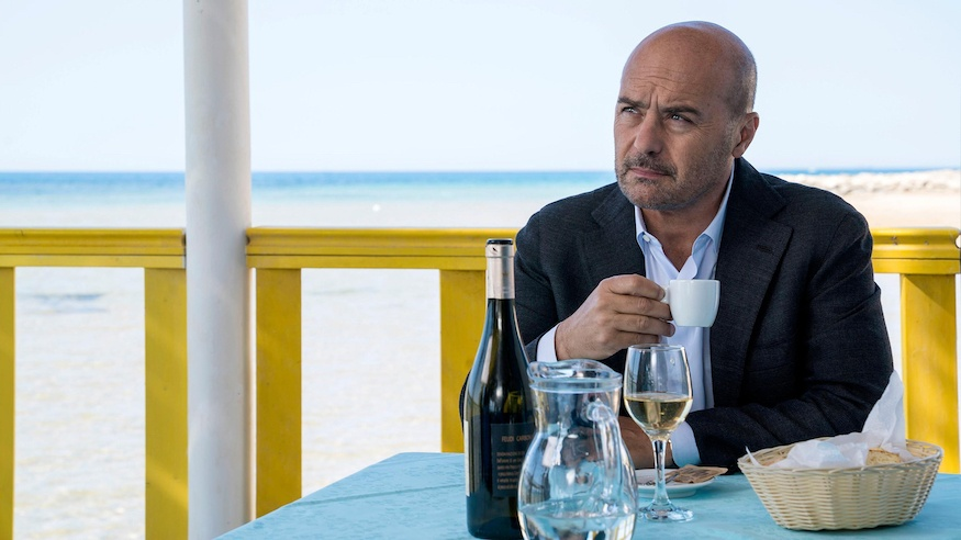 Inspector Montalbano played by Luca Zingaretti