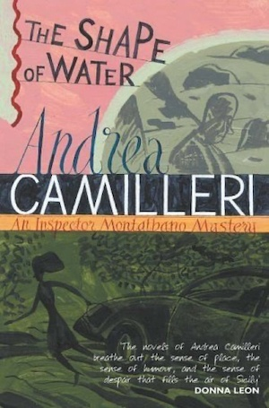 The Shape of Water by Andrea Camilleri front cover